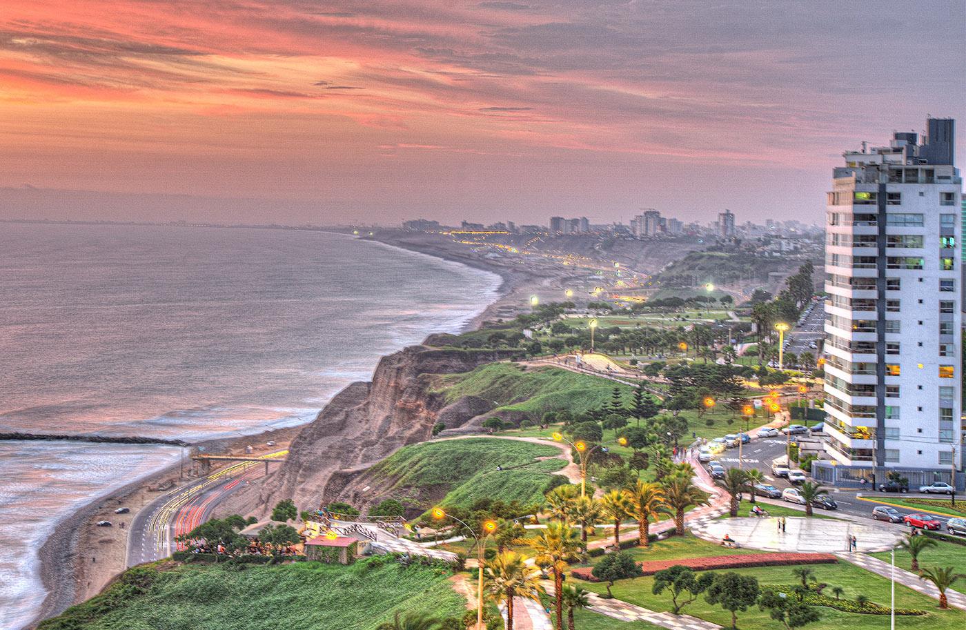 Lima Peru Coastline Costa Verde OnStandby OnStandby
