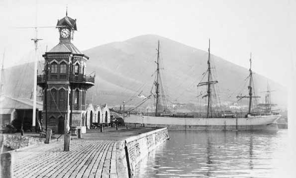 Cape Town Clock Tower in 1883