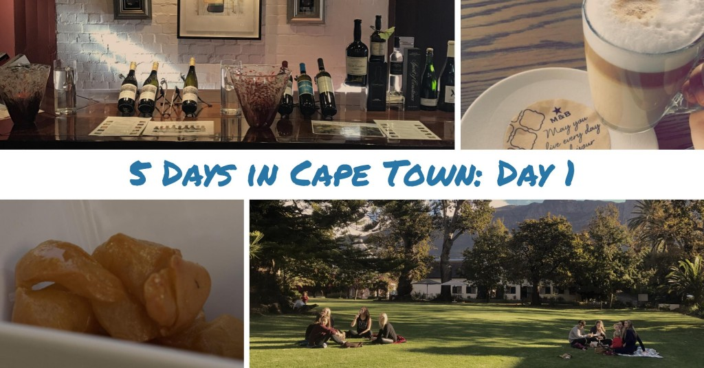 5 Days in Cape Town: Day 1 - Waterfront and WInefarms