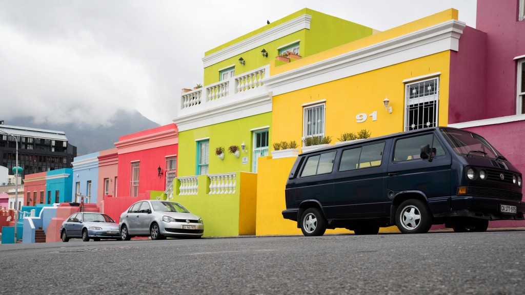 Bokaap colored houses