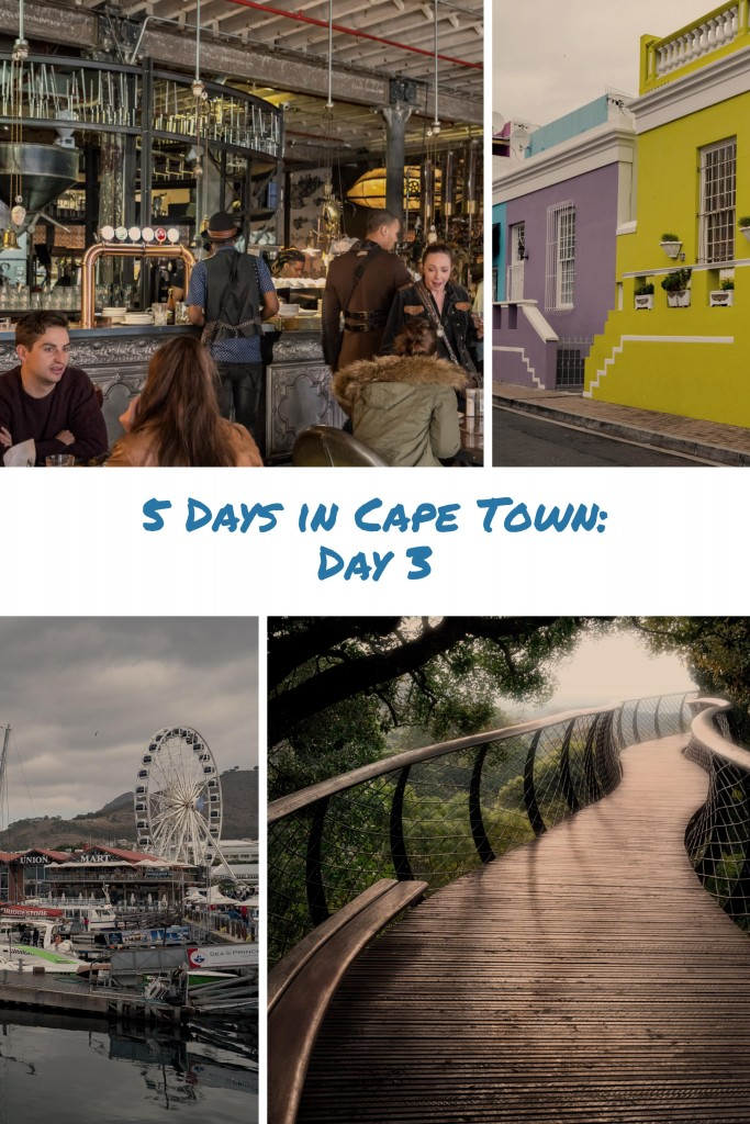 Day 3 in Cape Town: Canopy Walk, Coffee and Bo-Kaap
