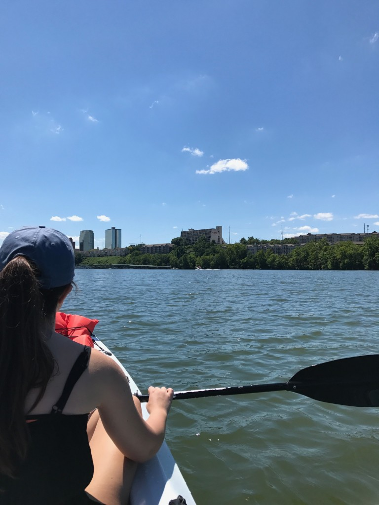 Kayaking in Downtown Knoxville