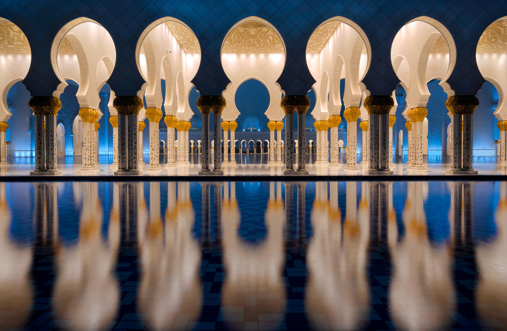 The Sheik Zayed Mosque; Grand Mosque Abu Dhabi