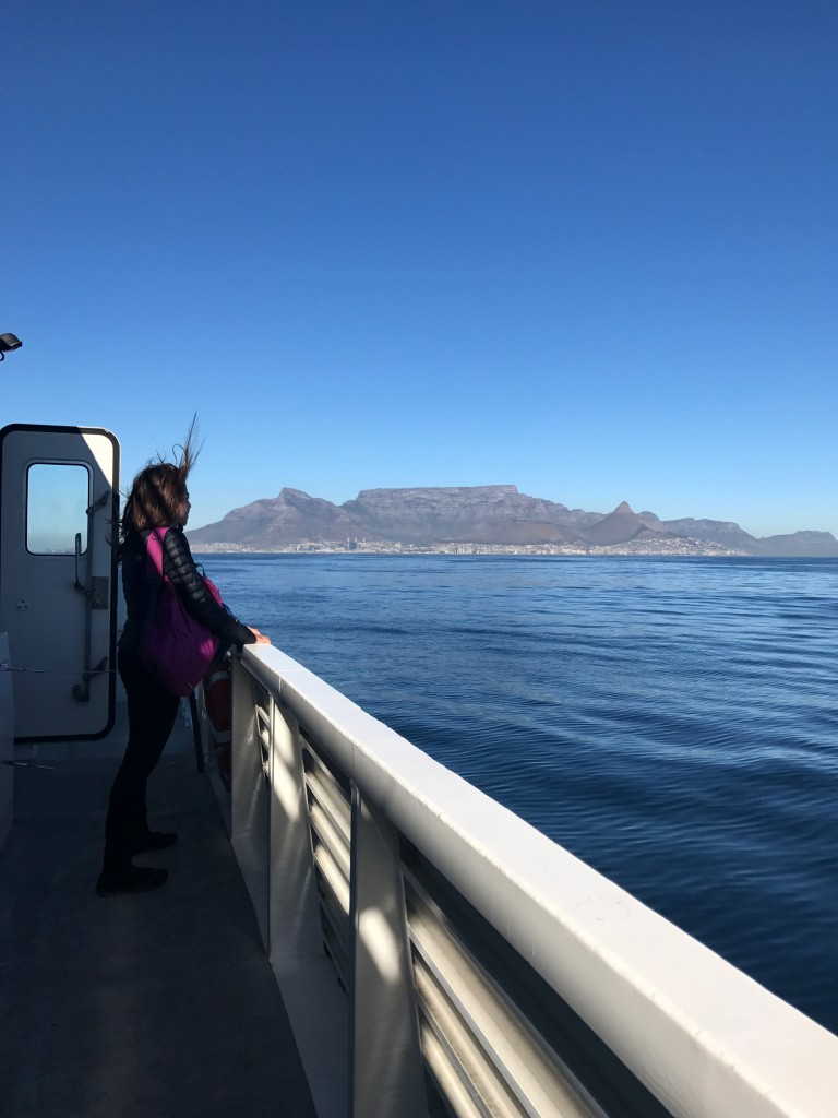 Boat trip to Robben Island