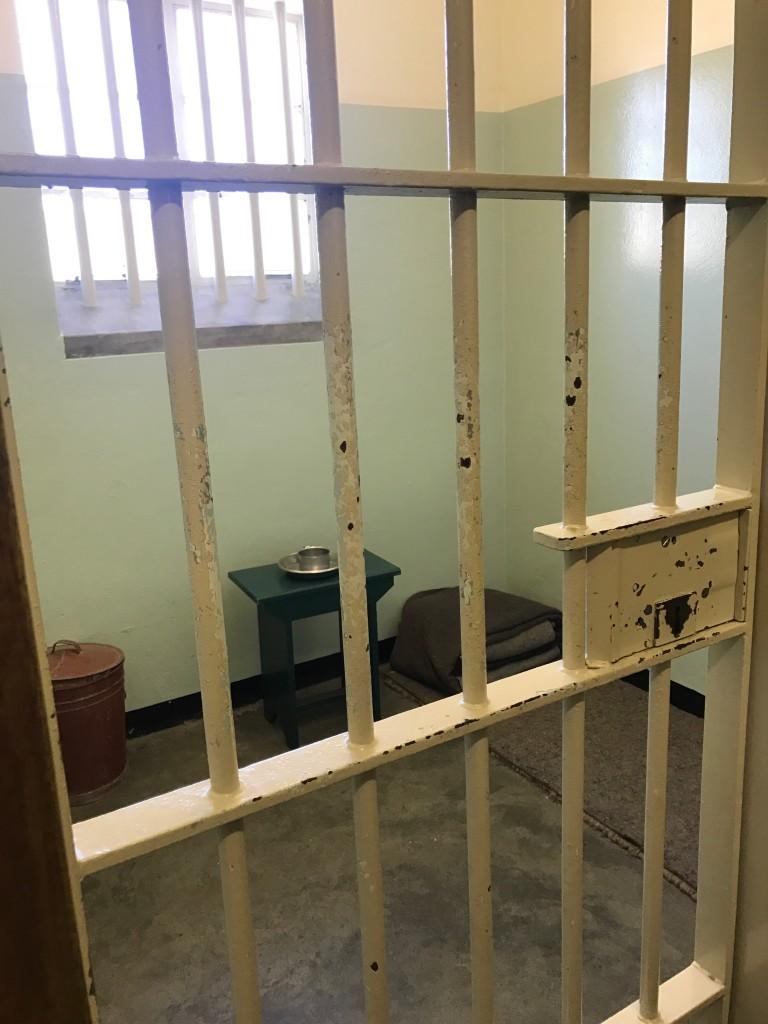 Nelson Mandela's Cell, Robben Island