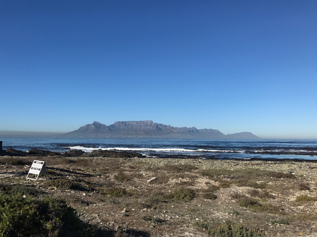 View from Robben Island.