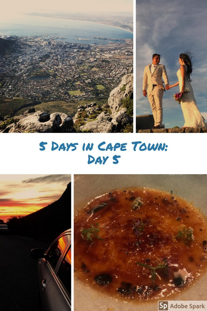 5 Days in CapeTown Day 5
