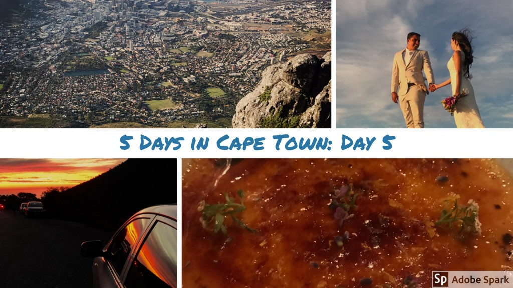 5 days in Cape Town: Day 5