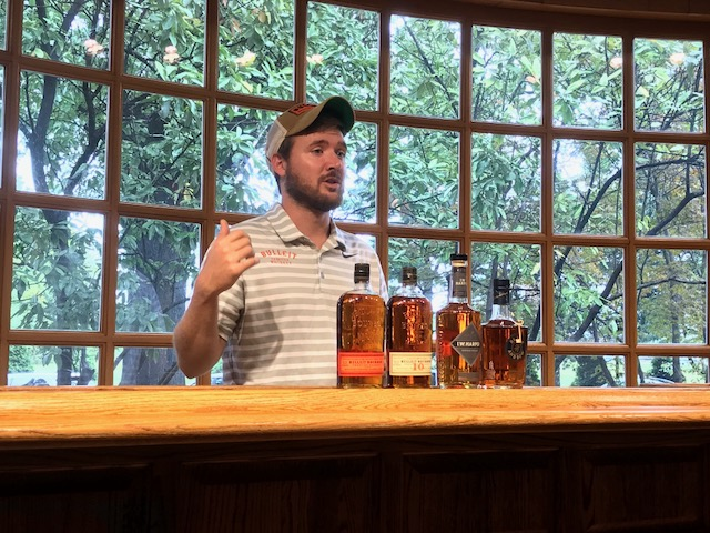 Bourbon tasting at Bulleit