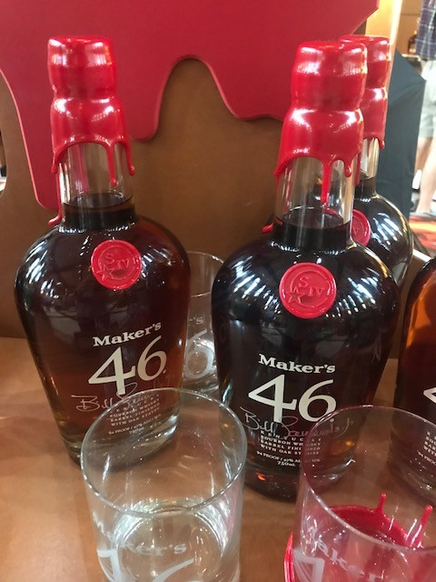 Makers Mark Bourbon Bottles